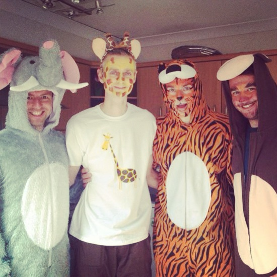 Zoo Keeper Costume Family